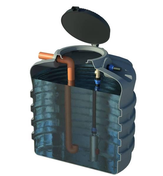 Cisterna in polietilene per acqua piovana litri 8000 for Spruzzini irrigazione