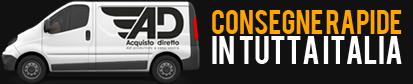 consegna rapida in tutta Italia